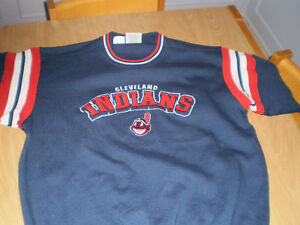 Cleveland Indians Sweater/Sweat Shirt Embroidered Logo - NICE! London Ontario image 2