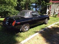 sweet classic 1979 MG REDUCED