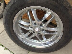 Four tires and rims for sale