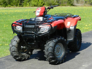 2017 Honda TRX500 Rubicon IRS EPS Manual Foot Shift! Independent