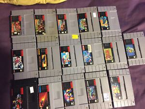Snes console and 16 games, best games!!!