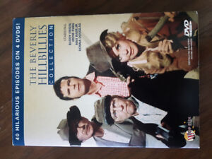 The Beverly Hillbillies collection with 40 episodes