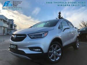 2017 Buick Encore Essence  REMOTE START,LEATHER,SUNROOF,REARCAM,