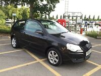 2008 '08' Volkswagen Polo 1.4 TDI Match 3 Door Black