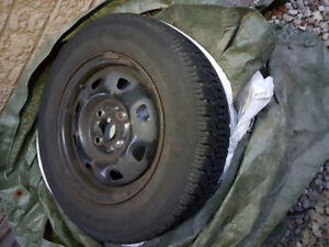 """13"""" 4 bolt pattern steel rims for 2004 Hyundai Accent"""