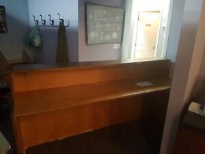 Store Front Wooden Desk