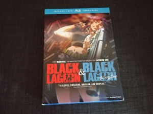 Black Lagoon whole series (2 seasons) Blu Ray