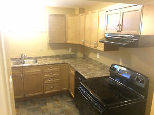 Executive style 2 bdrm legal bsmt suite. Great Location and new!