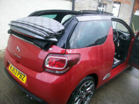 Citroen DS3 Cabrio 1.6 THP ( 155bhp ) DSport Plus convertible petrol