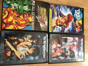 Anime movies Dragonball Z & others