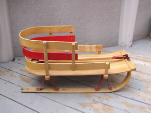 Wooden Sleigh for Toddler