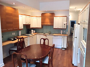 Fully furnished and renovated 3 bedroom at 3538 Aylmer (McGill)