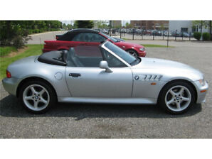 1997 BMW Z3 2.8L 6 cylinder never winter driven