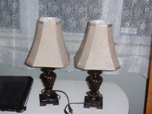 19 inch table lamps