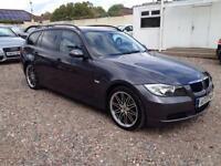 2007 07 BMW 3 SERIES 2.0 320D SE TOURING 5D AUTO 161 BHP DIESEL