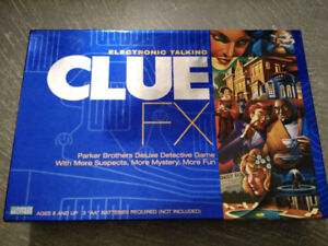 Clue FX Electronic Talking Game by Hasbro Games and Parker