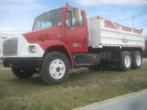 Allison automatic gravel truck 82,000 km