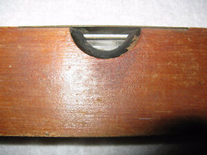 Vintage Wooden Rule Level by Stanley London Ontario image 1