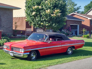 Classic 1962 Red Convertible