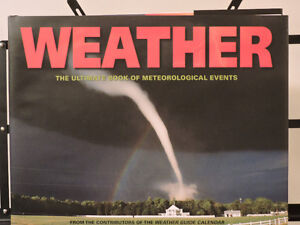 Weather The ultimate book of meteorological events Illustrated Kitchener / Waterloo Kitchener Area image 1