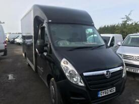 VAUXHALL MOVANO F3500 L3H1 P-C CDTI Blue Manual Diesel, 2010 GRP WALK IN BOX VA