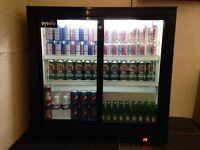 Prodis Del Sliding Door Bottle Refrigerator