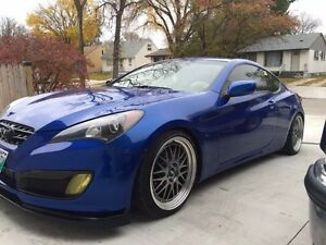 Genesis Coupe, lots after market parts!