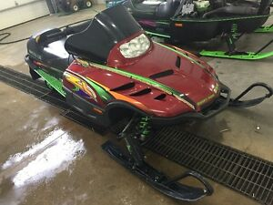 1999 Arctic Cat ZL 600 - Family sled with Reverse Moose Jaw Regina Area image 2