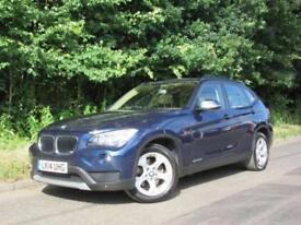 2014 14 BMW X1 2.0 SDRIVE20D SE 5D 181 BHP DIESEL BLUE 5 DOOR HATCHBACK SUV
