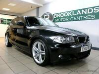 BMW 1 SERIES 118d M SPORT [6X SERVICES, LEATHER and 30 ROAD TAX]