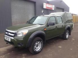 * SOLD * 2011 Ford Ranger 2.5 TDCi Double Cab *Forrestry * Wildlife Conversion