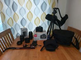 Canon eos 1300D (boxed) bundle