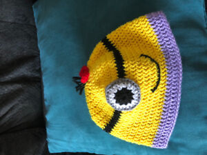Brand new Minion hat for 2 years old