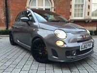 Fiat 500C 595 160 bhp abarth convertible 1.4T tourismo 160hp ++CHEAPEST AUTO IN UK