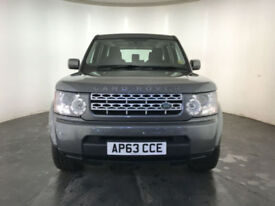 2013 63 LAND ROVER DISCOVERY GS SDV6 AUTO DIESEL 1 OWNER SERVICE HISTORY FINANCE
