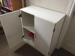 Small white pantry