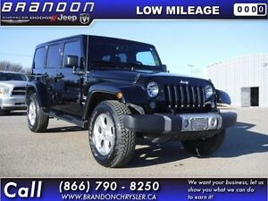 2015 Jeep Wrangler Unlimited Sahara - Bluetooth -  Navigation -