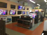 APPLIANCES FRIDGE STOVE RANGE WASHER DRYER DISHWASHER LG TVs