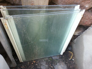 Glass - Shower panels and windows  panes 5mm