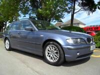 BMW 320 2.2 AUTO 2002 MY SE TOURING COMPLETE WITH M.O.T HPI CLEAR INC WARRANTY