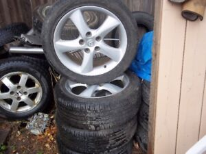 GRAFTON 4 235 45 R 17 MAZDA 3 OR 6 RIMS ALLSEASON MS