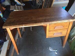 Antique Solid Maple desk Kitchener / Waterloo Kitchener Area image 1