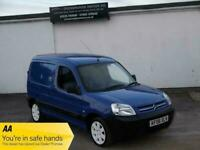 CITROEN BERLINGO 1.9 LX 800 D BLUE VTR ALLOYS NO VAT VAN NEW MOT CLEAN VAN