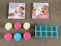 Baby Weaning Books and Pots