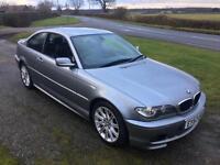 2003 BMW 3 Series 2.0 318Ci Sport Coupe 2dr Petrol Manual (180 g/km, 143