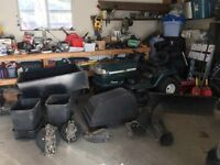 Craftsman LT1000 Tractor Mower w/ Accessories