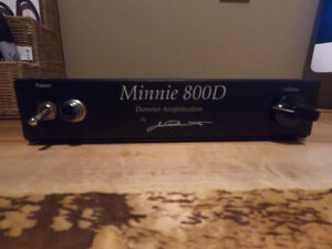 Demeter Minnie 800D Bass Amp
