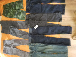 7 Pairs of Boys Pants $20
