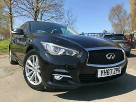 image for 2017 67 INFINITI Q50 2.1 SE D 4D 168BHP DIESEL+HALF LEATHER TRIM+1F KEEPER+BLACK