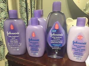 Baby Bedtime Bath Products - Not Opened